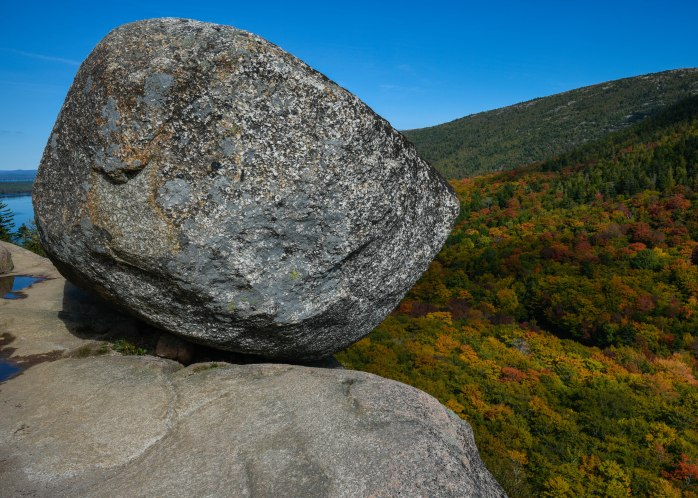 Bubble Rock Fall Foliage (1 of 1)