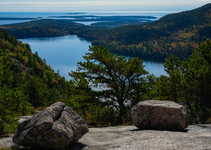 View from North Bubble Rock towards Jordan Pond 2 (1 of 1)