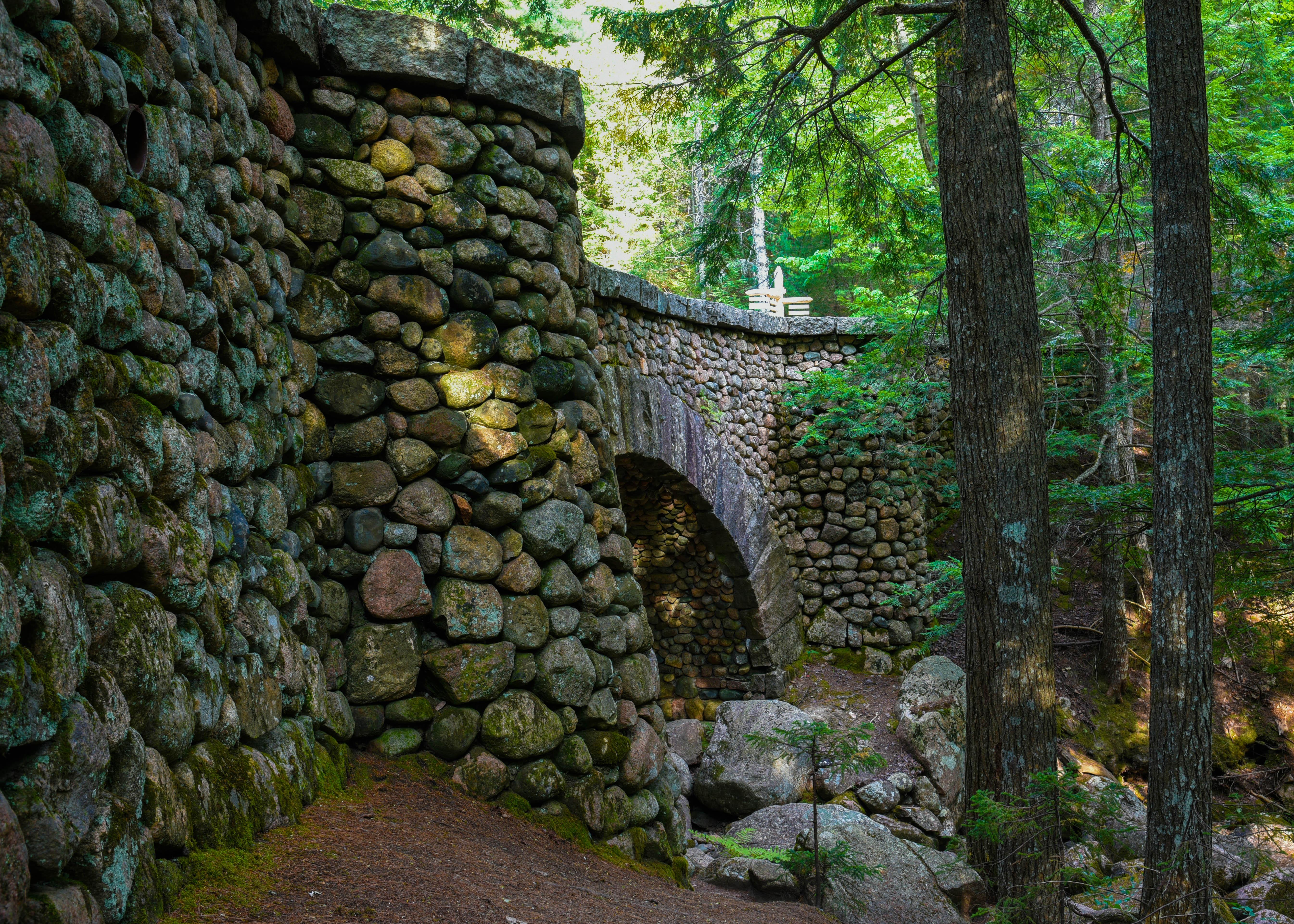 cobblestone bridge acadia np (1 of 1)
