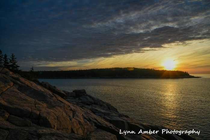 sunrise over otter point acadia 2018 (1 of 1)