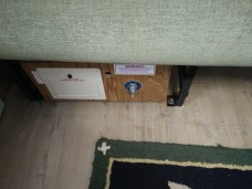 An experiment to see if this prevents future floor shifting!