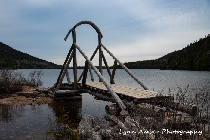 Jordan Pond foot bridge