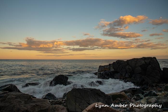 Sunset at Blackwoods coast (1 of 1)