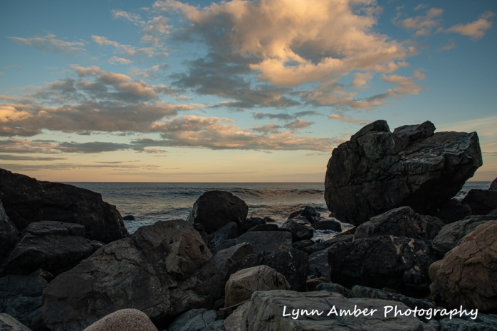 Sunset at Lynns Rock (1 of 1)