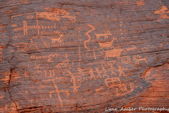 Valley of Fire petraglyphs
